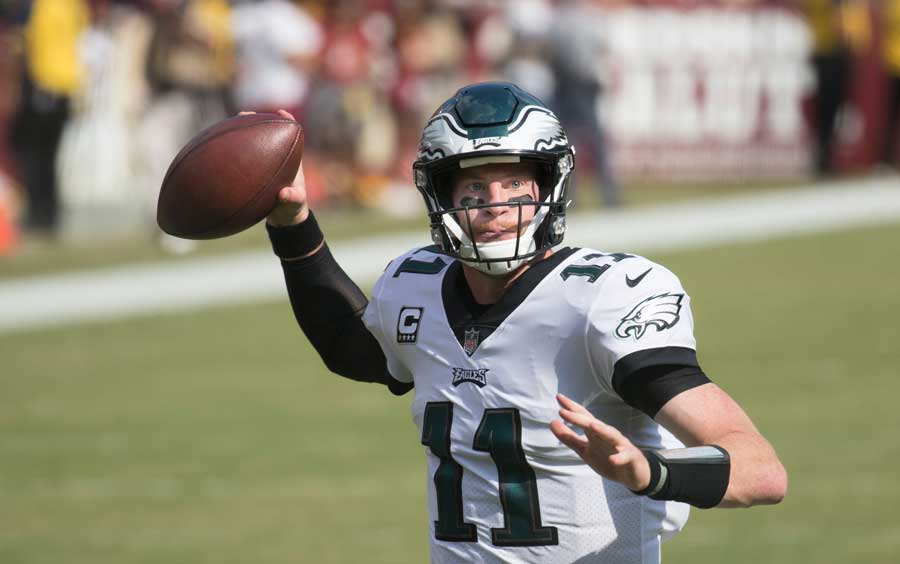 Despite Loss, a Silver Lining For Carson Wentz and the Eagles' Offense